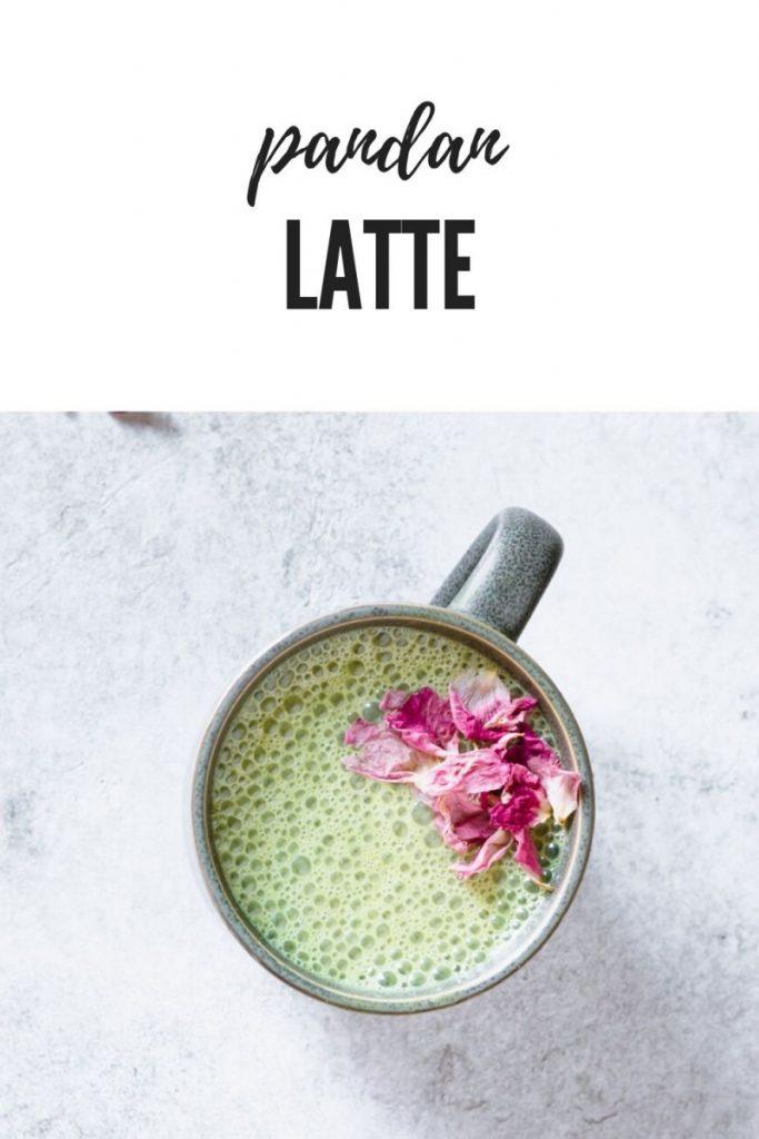 Pandan Cashew Milk latte