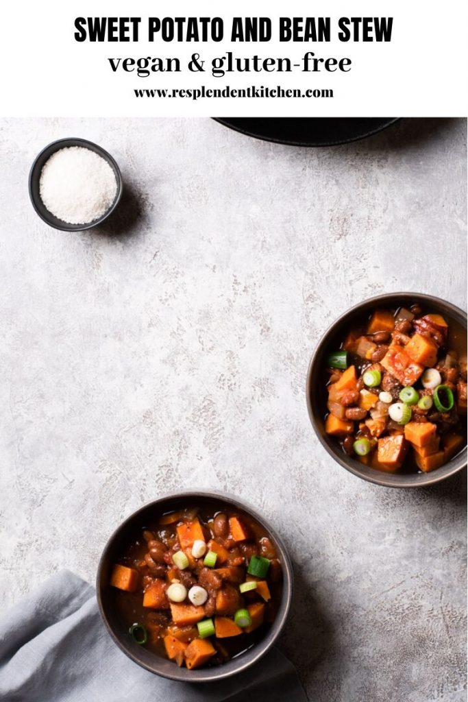 Sweet Potato and Bean Stew recipe