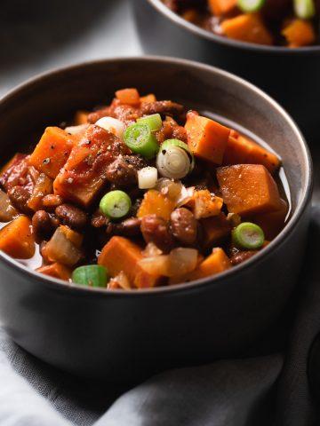 sweet potato and bean stew Resplendent Kitchen