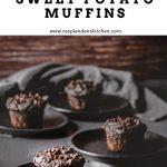 vegan chocolate sweet potato muffins Resplendent Kitchen
