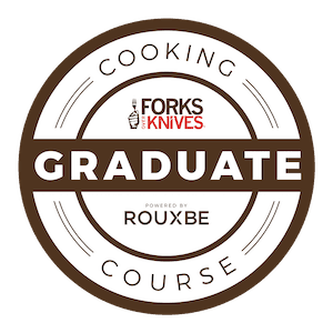 forks over knives graduate rouxbe course