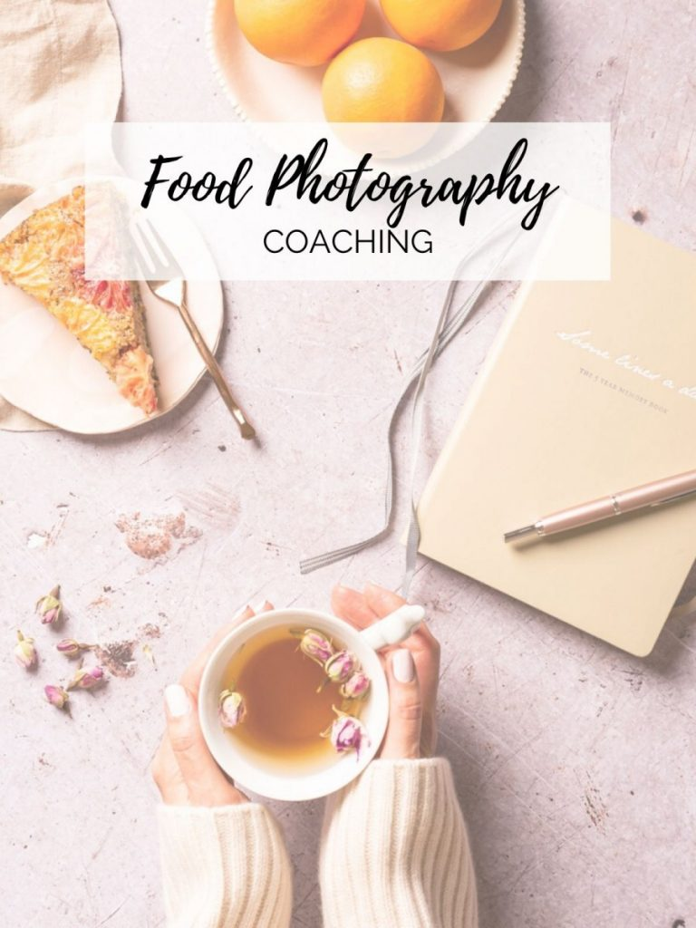 Food photography coaching