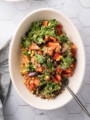 Featured Image Southwest Quinoa Bowl