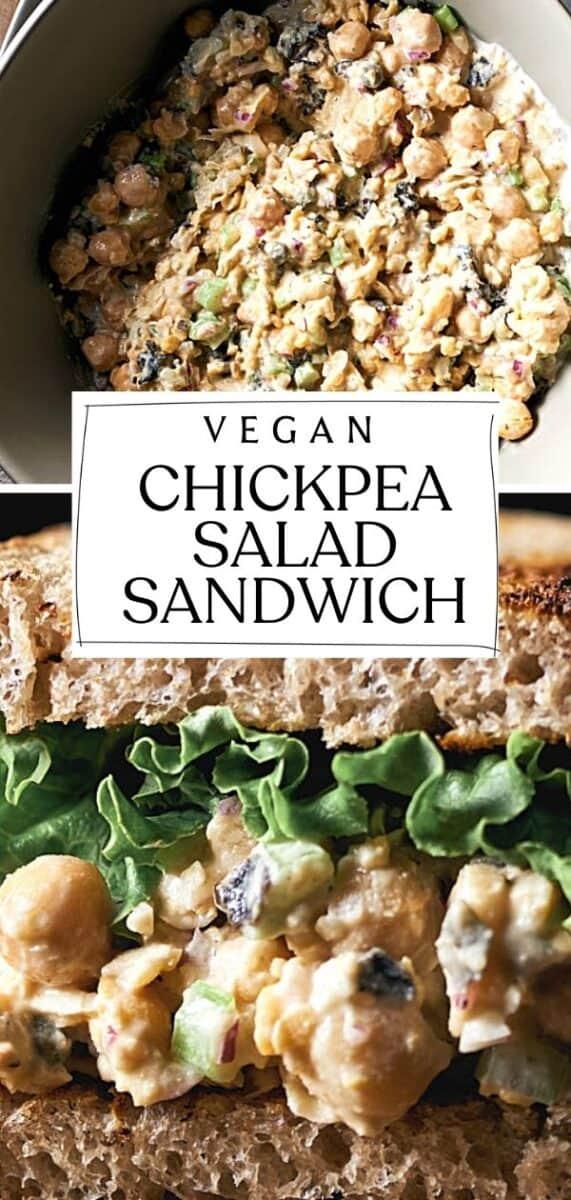 Meatless Monday Chickpea Salad Sandwich